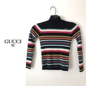 Gucci nwt Striped Turtleneck (kids fits women's)